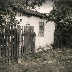 Подвір'я бабусі Одарки