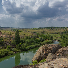 Каньон на реке Каменка
