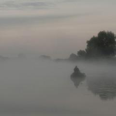 Рибалка в тумані