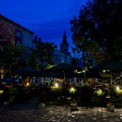 Огни вечернего Львова - 1