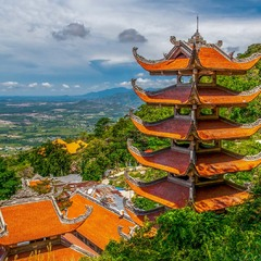 Вьетнамская пагода.