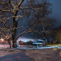 Зимний ночной....