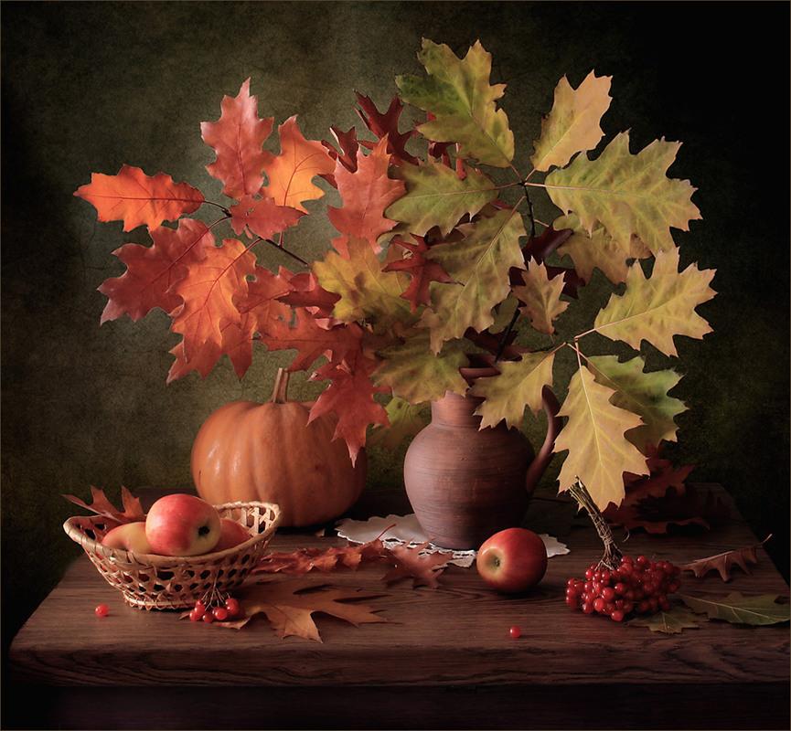 осенние листья натюрморт картинки тем менее