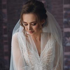 Красивая невеста Вероника.