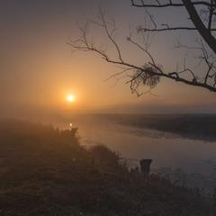 Вересневий ранок на Горині.