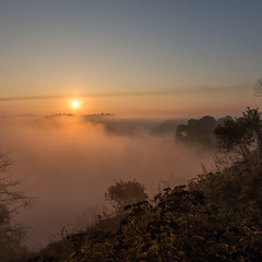 Звичайний туман над Случем.