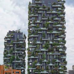 И на балконах растут деревья...