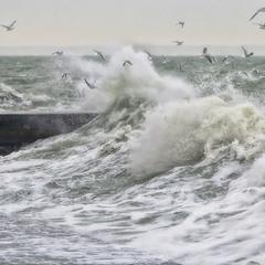 Кипит разгневанное море...