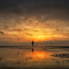 Alone...