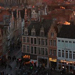 зимовий вечір старого міста
