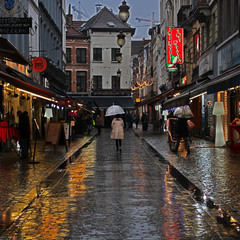 вечір в Брюселі