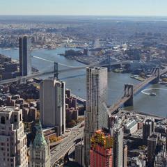 Мосты Нью-Йорка (Бруклинский, Манхеттенский, Вильямсбургский)