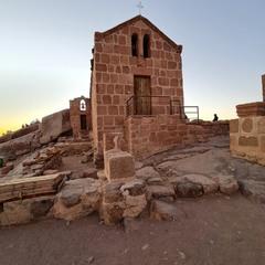 Церква на вершині гори. Висота 2283м.Єгипет