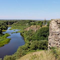 Залишки Губківського замку.