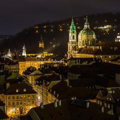 Ночные огни Праги 1