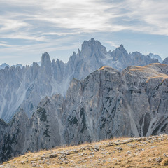 Доломитовые зубы. Dolomiti, Italia