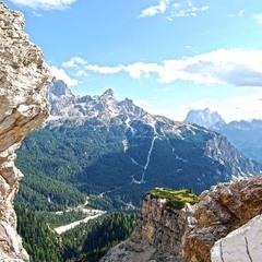 Окно в горах