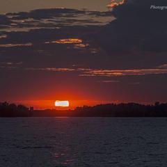 Вечір над Дніпром
