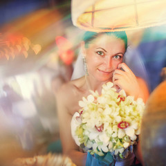 Свадебный портрет.