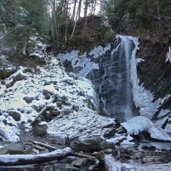 Водопад Гук.Карпаты.