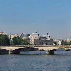 Река Сена и Мост Каррузель( Pont du Carrousel)