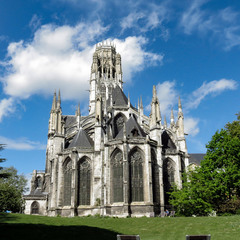Церковь Сэн-Уэн      Abbatiale Saint-Ouen в Руане