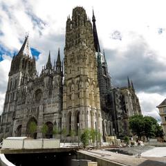 Руанский собор  (Cathedrale Notre-Dame de Rouen)