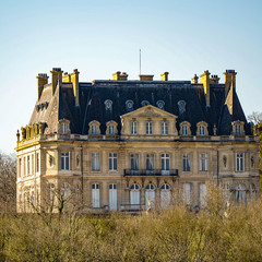 "Замок Дангу "" Château de Dangu"""