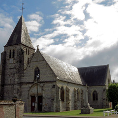 Церковь Святого Сюльписа Эудикура. Франция