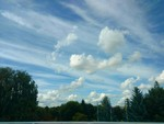 Облачно полосато