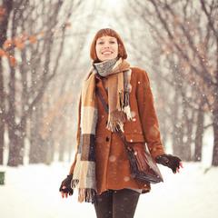 Aleksandra & snow
