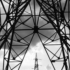 высоковольтная линия электропередачи
