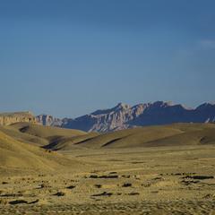 вид на Аравийскую пустыню