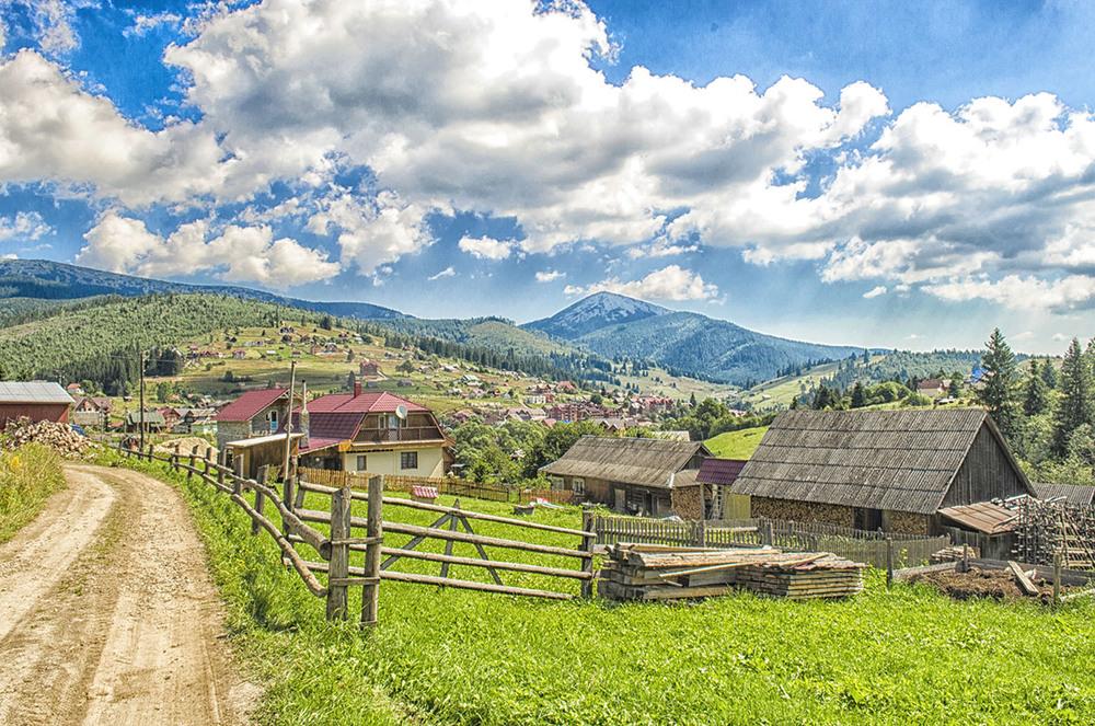 Картинки село, костенко картинки красивые