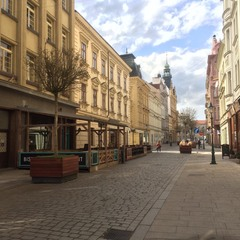 Улочки города Пльзень