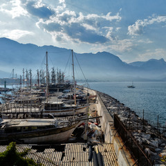 Старый турецкий порт