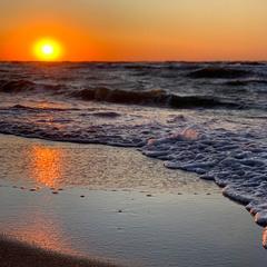 Чарующий восход Солнца