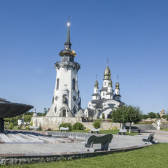 Київський фонтан на селі...