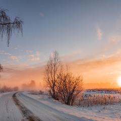 Мороз і сонце... і туман