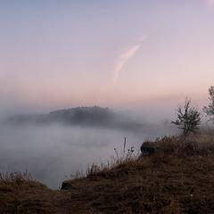 """""""Миколині тумани"""" - Десна в тумані..."""