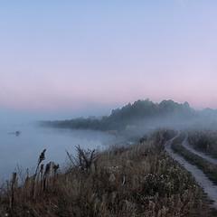 """""""Миколині тумани"""" - про Десну в тумані..."""