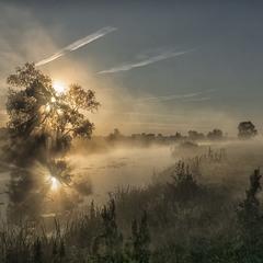 Іду я росами...Миколині тумани.