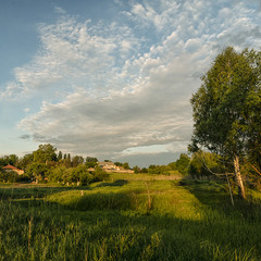 Край села...