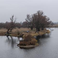 Зимове озеро...