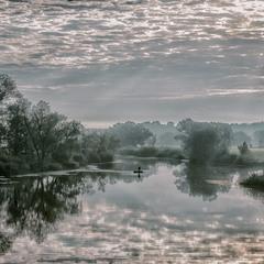 Ранок на озері Солонецьке...