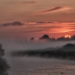 """Сходить сонце із-за гаю... """"Миколині тумани"""""""