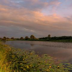 Вечір на озері Солонецьке...