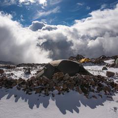 """""""Крылья сложили палатки – их кончен полёт..."""" або посеред хмар"""