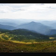 Карпатський пейзаж