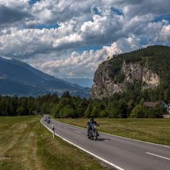 альпийскими дорогами
